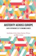 Cover-Bild zu Hall, Sarah Marie (Hrsg.): Austerity Across Europe (eBook)