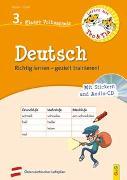 Cover-Bild zu Stoifl, Erika: Lernen mit Teo und Tia Deutsch - 3. Klasse Volksschule mit CD