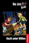 Cover-Bild zu Die drei ??? Kids, 8, Nacht unter Wölfen von Blanck, Ulf