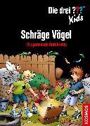 Cover-Bild zu Die drei ??? Kids, Schräge Vögel (drei Fragezeichen Kids) (eBook) von Blanck, Ulf