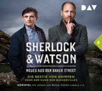 Cover-Bild zu Sherlock & Watson - Neues aus der Baker Street: Die Bestie von Grimpen oder Der Hund der Baskervilles (Fall 8) von Koppelmann, Viviane