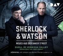 Cover-Bild zu Sherlock & Watson - Neues aus der Baker Street: Duell im Vermissa Valley oder Das Tal der Angst (Fall 9) von Koppelmann, Viviane