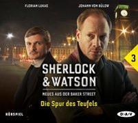 Cover-Bild zu Sherlock & Watson - Neues aus der Baker Street: Die Spur des Teufels (Fall 3) von Koppelmann, Viviane