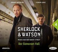 Cover-Bild zu Sherlock & Watson - Neues aus der Baker Street: Der Somerset-Fall (Fall 4) von Schmid, Nadine