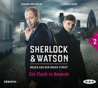 Cover-Bild zu Sherlock & Watson - Neues aus der Baker Street: Ein Fluch in Rosarot (Fall 2) von Koppelmann, Viviane