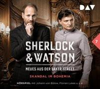 Cover-Bild zu Sherlock & Watson - Neues aus der Baker Street: Skandal im Bohemia (Fall 7) von Koppelmann, Viviane
