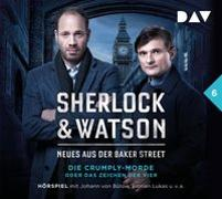 Cover-Bild zu Sherlock & Watson - Neues aus der Baker Street: Die Crumply-Morde oder Das Zeichen der Vier (Fall 6) von Koppelmann, Viviane