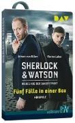Cover-Bild zu Die Sherlock & Watson-Box. Hörspiel auf USB-Stick von Bülow, Johann von (Gelesen)