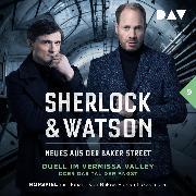 Cover-Bild zu Sherlock & Watson - Neues aus der Baker Street: Duell im Vermissa Valley oder Das Tal der Angst (Fall 9) (Audio Download) von Koppelmann, Viviane