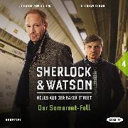 Cover-Bild zu Sherlock & Watson - Neues aus der Baker Street: Der Somerset-Fall (Fall 4) (Audio Download) von Schmid, Nadine