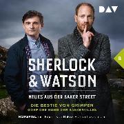Cover-Bild zu Sherlock & Watson - Neues aus der Baker Street: Die Bestie von Grimpen oder Der Hund der Baskervilles (Fall 8) (Audio Download) von Koppelmann, Viviane