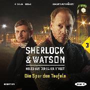 Cover-Bild zu Sherlock & Watson - Neues aus der Baker Street: Die Spur des Teufels (Fall 3) (Audio Download) von Koppelmann, Viviane