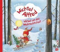 Cover-Bild zu Wichtel Alfred - Wirbel um das Weihnachtsfest von Kaden, Outi