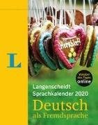 Cover-Bild zu Langenscheidt Sprachkalender 2020 Deutsch als Fremdsprache - Abreißkalender von Langenscheidt, Redaktion (Hrsg.)