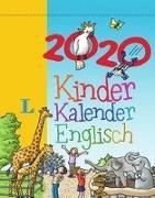 Cover-Bild zu Langenscheidt Kinderkalender Englisch 2020 - Abreißkalender von Richardson, Karen