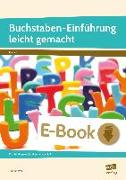 Cover-Bild zu Buchstaben-Einführung leicht gemacht (eBook) von Weiß, Gudrun