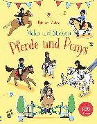 Cover-Bild zu Malen und Stickern: Pferde und Ponys von Patchett, Fiona
