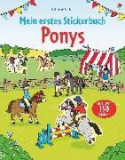Cover-Bild zu Mein erstes Stickerbuch: Ponys von Patchett, Fiona