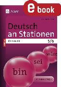Cover-Bild zu Deutsch an Stationen SPEZIAL Grammatik 5-6 (eBook) von Scherer, Yvonne