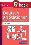 Cover-Bild zu Deutsch an Stationen Spezial Grammatik 1-2 (eBook) von Knipp, Martina