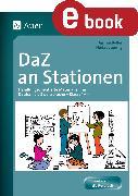 Cover-Bild zu DaZ an Stationen (eBook) von Boller, Jasmin