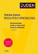 Cover-Bild zu Schülerduden Rechtschreibung und Wortkunde (kartoniert) von Dudenredaktion