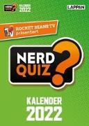 Cover-Bild zu Rocket Beans TV - Nerd Quiz-Kalender 2022 mit Fragen rund um Games, Filme und Popkultur von Kartsios, Gregor