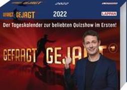 Cover-Bild zu Gefragt - gejagt - Tagesabreißkalender 2022