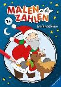 Cover-Bild zu Malen nach Zahlen ab 5 Jahren: Weihnachten