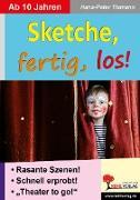 Cover-Bild zu Sketche fertig, los! (eBook) von Tiemann, Hans-Peter
