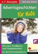 Cover-Bild zu Adventsgeschichten für Kids (eBook) von Tiemann, Hans-Peter