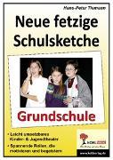 Cover-Bild zu Neue fetzige Schulsketche, Grundschule (eBook) von Tiemann, Hans-Peter