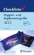 Cover-Bild zu Checkliste Doppler- und Duplexsonografie von Kopp, Helmut