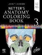 Cover-Bild zu Netter's Anatomy Coloring Book von Hansen, John T.
