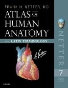 Cover-Bild zu Atlas of Human Anatomy: Latin Terminology E-Book (eBook) von Netter, Frank H.
