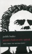 Cover-Bild zu Spivak, Gayatri Chakravorty: Who Sings the Nation-state?
