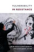 Cover-Bild zu Butler, Judith (Hrsg.): Vulnerability in Resistance