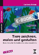 Cover-Bild zu Tiere zeichnen, malen und gestalten (eBook) von Blahak, Gerlinde
