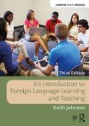 Cover-Bild zu An Introduction to Foreign Language Learning and Teaching (eBook) von Johnson, Keith