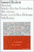 Cover-Bild zu Beckett, Samuel: Quadrat, Geister-Trio, ... nur noch Gewölk ..., Nacht und Träume