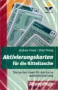 Cover-Bild zu Aktivierungskarten für die Kitteltasche von Friese, Andrea