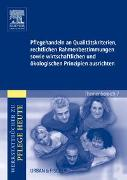 Cover-Bild zu Pflegehandeln an Qualitätskriterien, rechtlichen Rahmenbestimmungen sowie wirtschaftlichen und ökologischen Prinzipien ausrichten von Herrgesell, Sandra