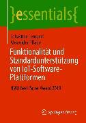 Cover-Bild zu Funktionalität und Standardunterstützung von IoT-Software-Plattformen (eBook) von Pflaum, Alexander