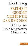 Cover-Bild zu Herzog, Lisa: Freiheit gehört nicht nur den Reichen