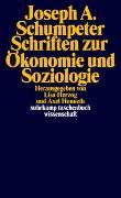 Cover-Bild zu Schumpeter, Joseph: Schriften zur Ökonomie und Soziologie