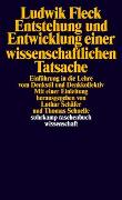 Cover-Bild zu Entstehung und Entwicklung einer wissenschaftlichen Tatsache von Fleck, Ludwik