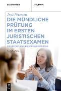 Cover-Bild zu Die mündliche Prüfung im ersten juristischen Staatsexamen (eBook) von Petersen, Jens