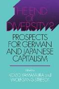 Cover-Bild zu Yamamura, Kozo (Hrsg.): The End of Diversity?