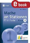 Cover-Bild zu Mathe an Stationen 9 Inklusion (eBook) von Ksiazek, Bernard