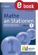 Cover-Bild zu Mathe an Stationen 5 Inklusion (eBook) von Ksiazek, Bernard